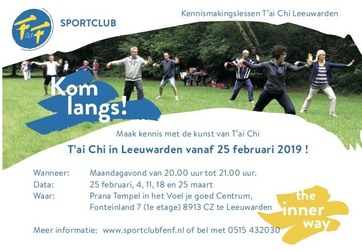 Tai Chi Leeuwarden 2019